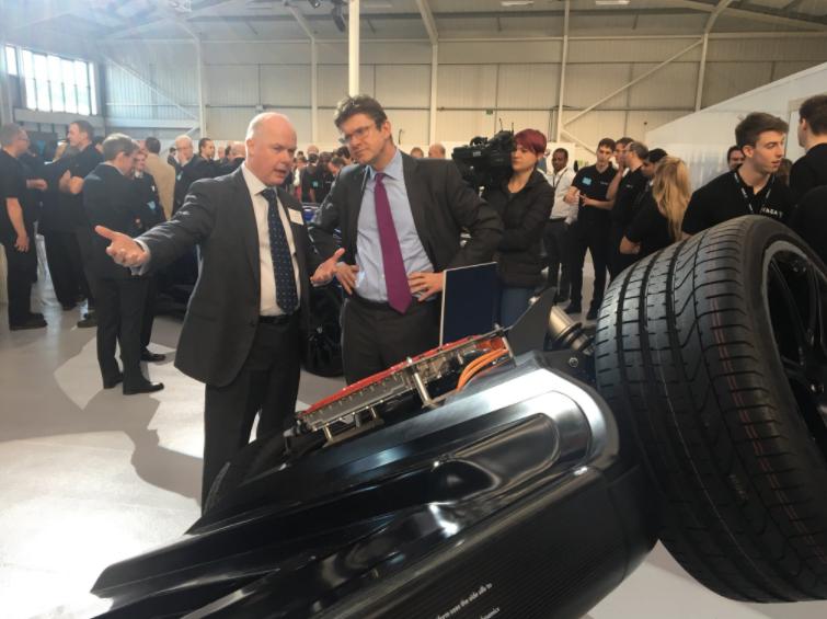 YASA – opens new 100,000 unit Oxford production facility