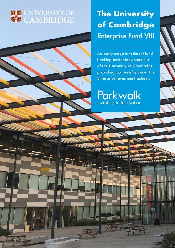 Parkwalk – University of Cambridge Enterprise Fund VIII launch