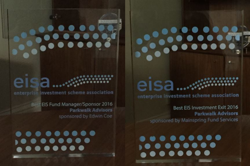Parkwalk wins at EISA Awards